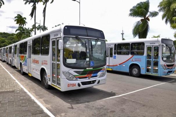Ônibus: 60% da frota voltam circular em João Pessoa