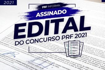 PRF assina edital que regula Concurso 2021