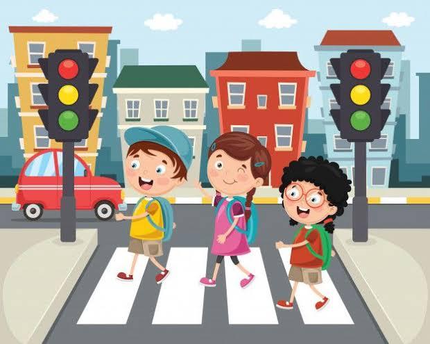 Você ensina seu filho a ser um bom pedestre?