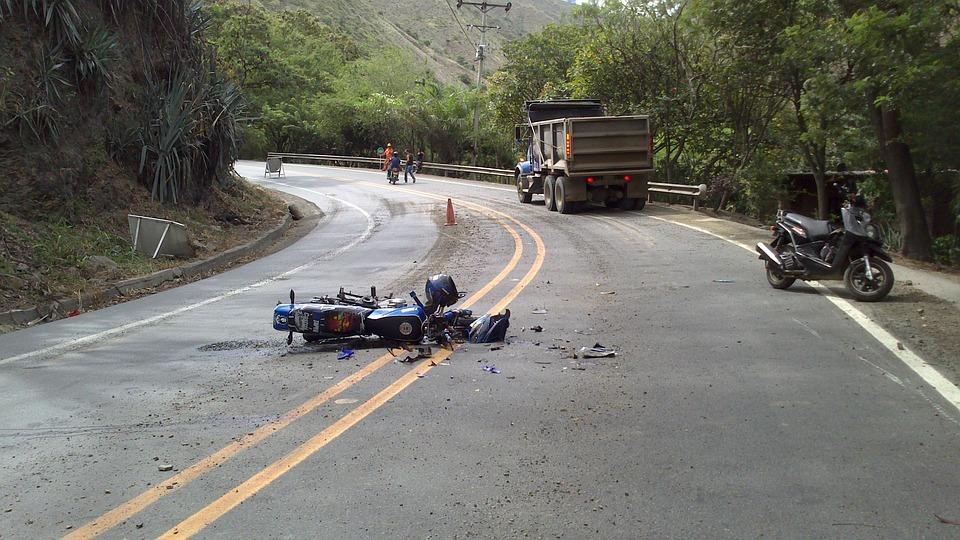 Motociclistas são os que mais se acidentam no trânsito