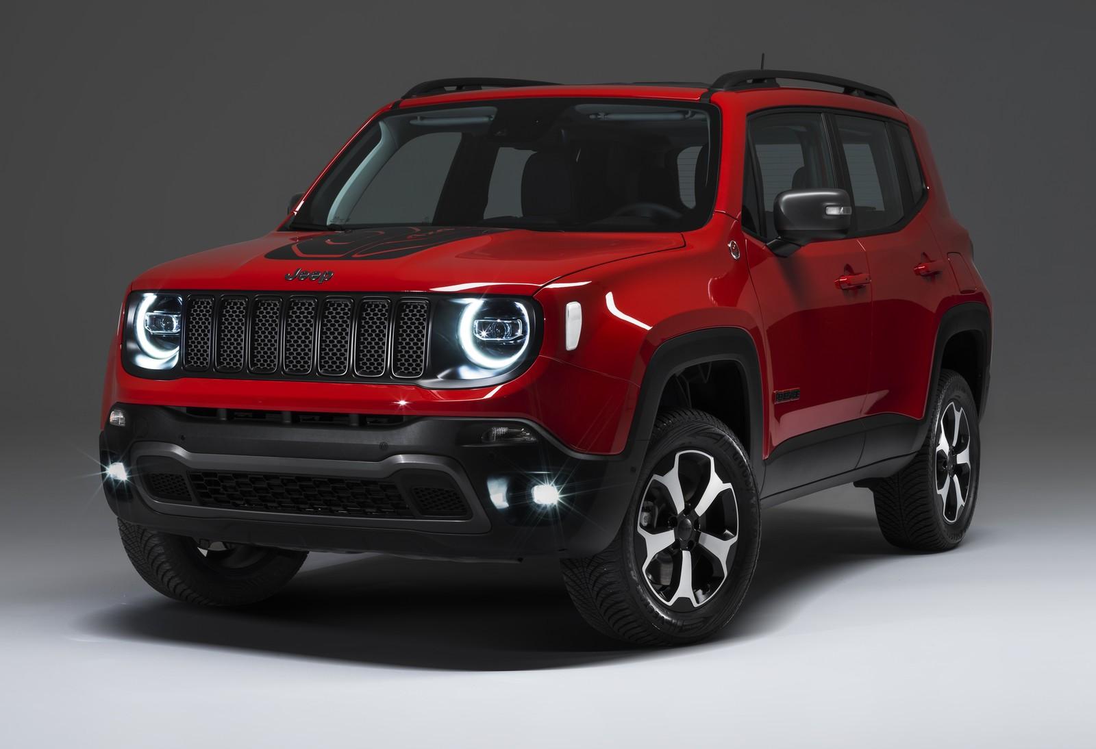 Jeep vai vender Renegade e Compass híbridos no Brasil em 2020