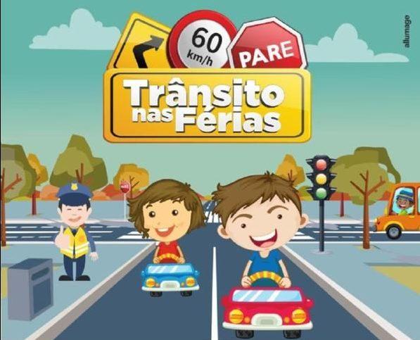 Trânsito no período de férias: Todo cuidado é pouco!