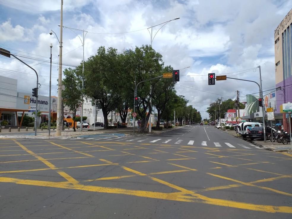 Teresina: Registra queda de 85,7% nos acidentes