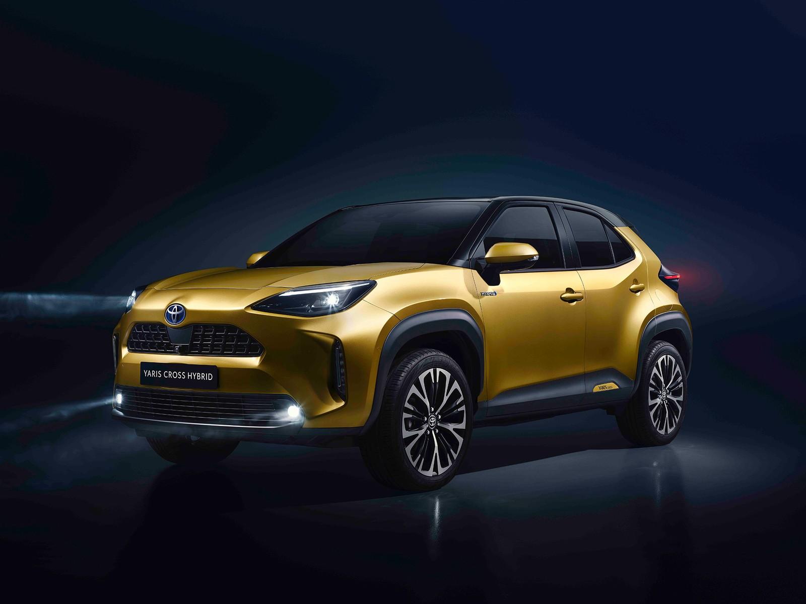 Toyota revela o Yaris Cross, novo SUV da marca