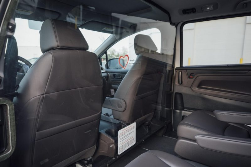 Honda faz minivan com proteção contra coronavírus