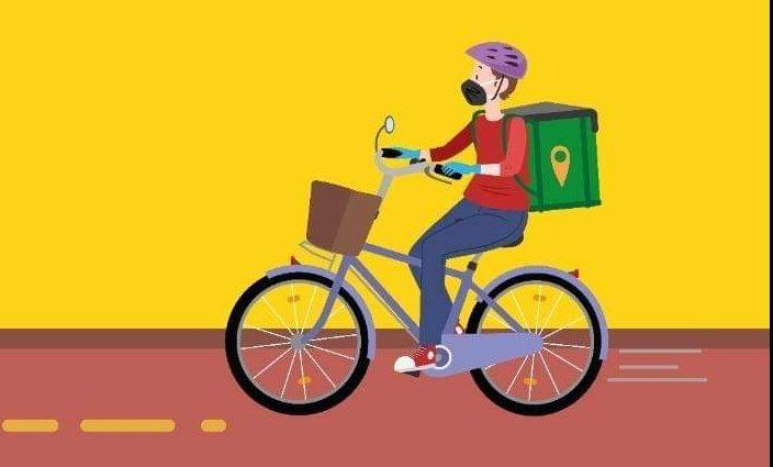 Ciclistas entregadores fique atento as recomendações