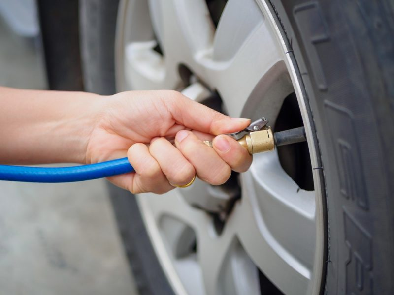 Você tem o hábito de calibrar os pneus ?