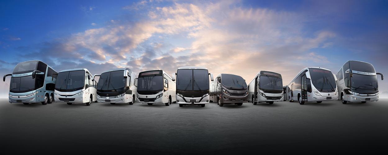 Mercedes-Benz abre vendas online de ônibus