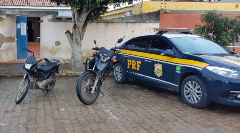 PRF recupera veículos roubados em fiscalização