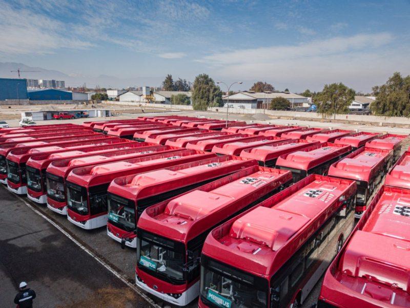 Chile aumenta frota de ônibus elétricos